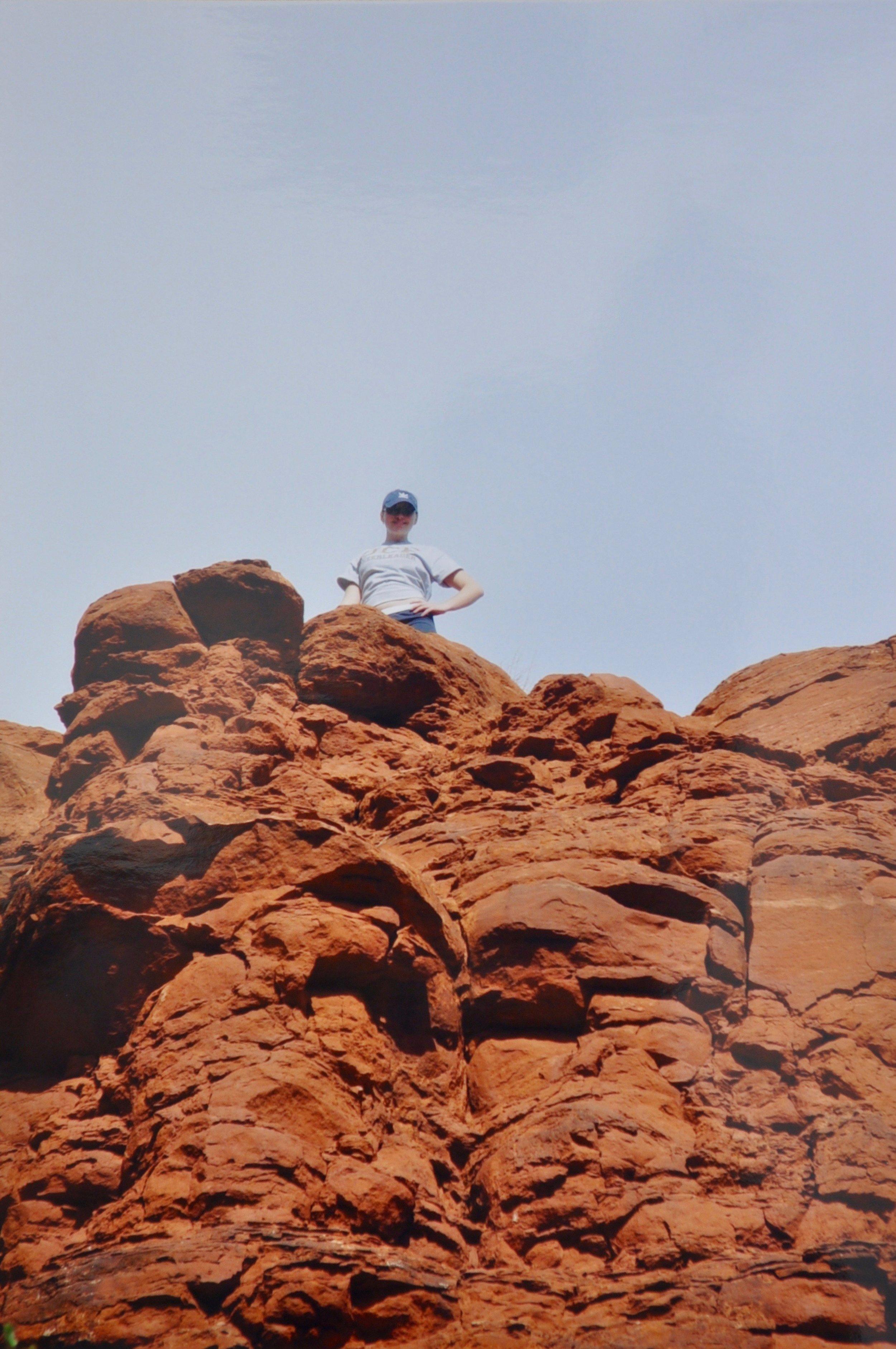 Free Climbing | Sedona, Arizona