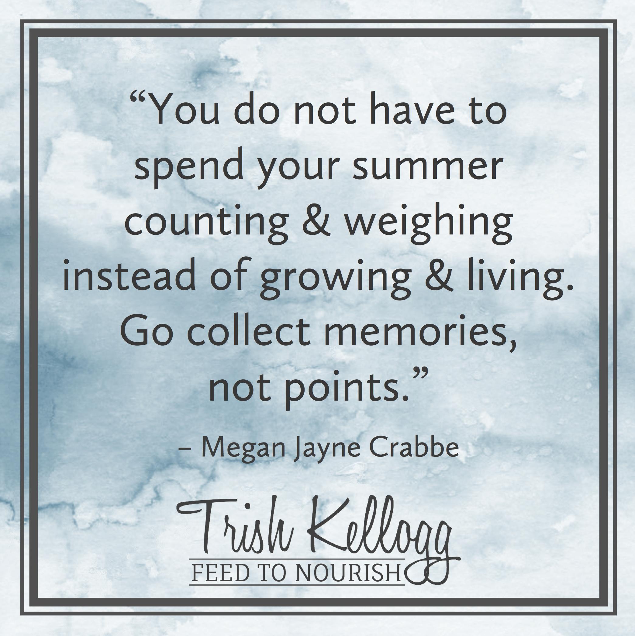Wake Up Weight Watchers — Trish Kellogg | Feed to Nourish