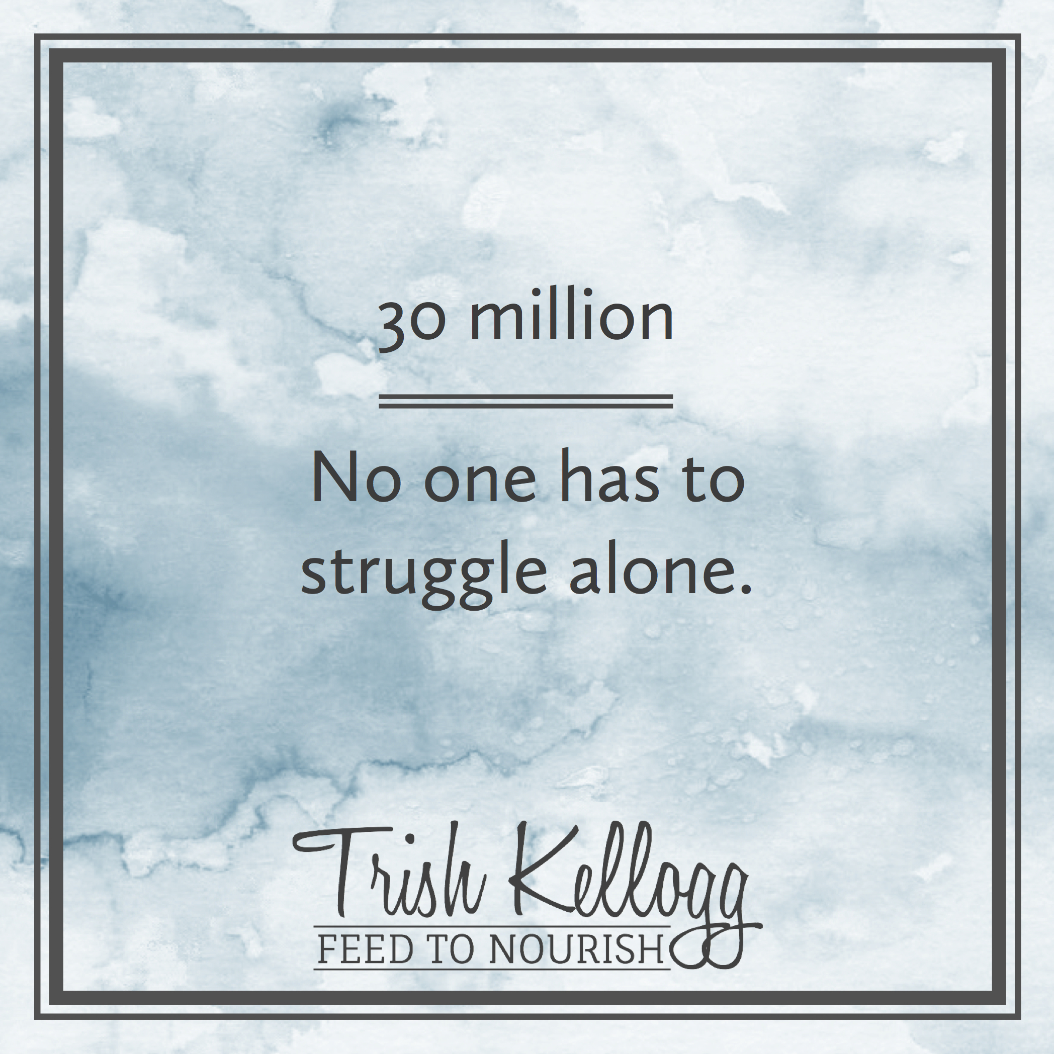 Recovery is Possible — Trish Kellogg   Feed to Nourish