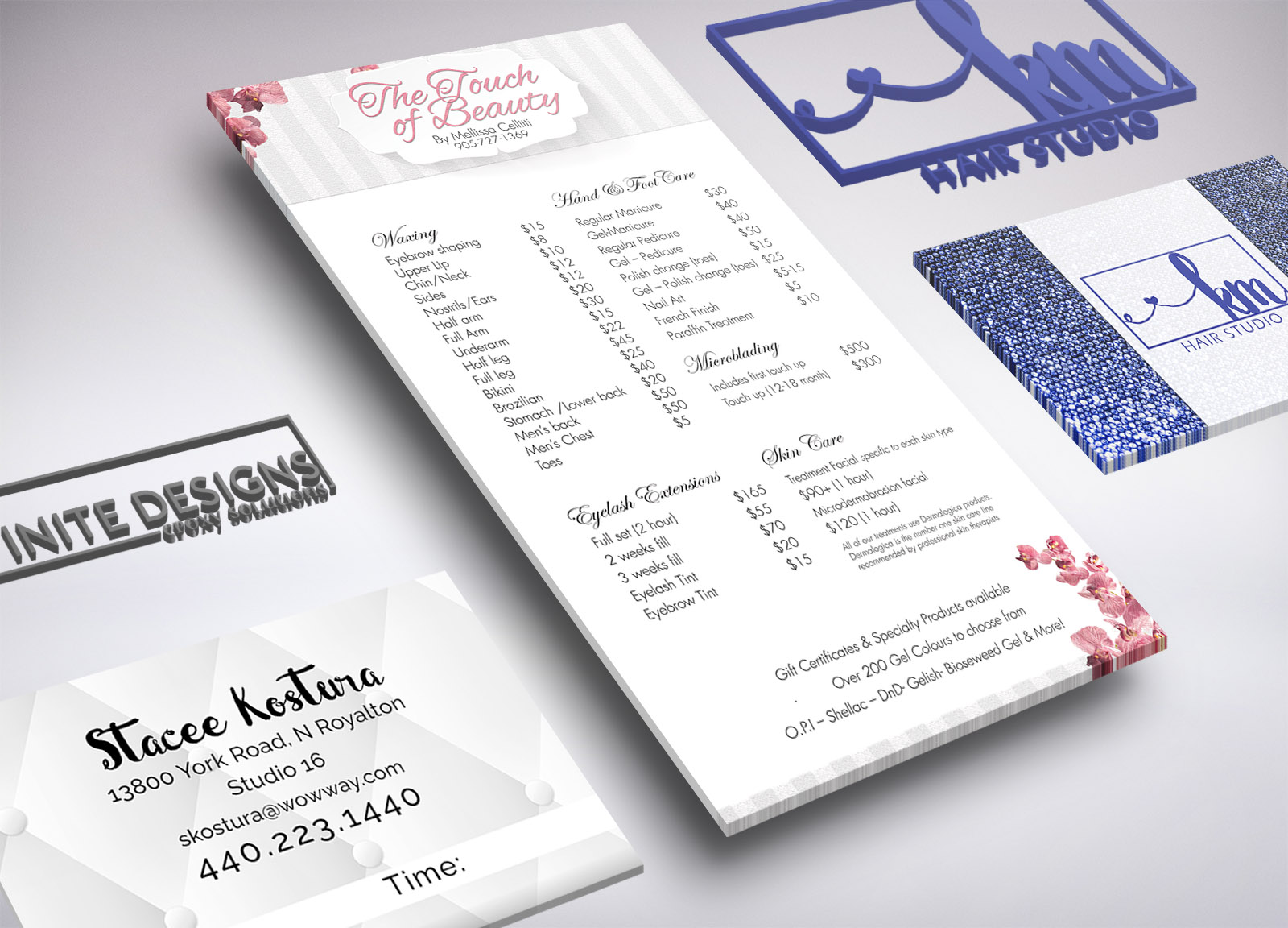 Branding Package - LogoFlyer/Sell Sheet or EDDM/Mailer DesignBusiness Card - up to 5 staff members, prepped and ready to print*Branding Board**Website Design (up to 8 pages)$1625*ask us for a printing quote**your custom logo options, color options, and consistent imaging for your brand