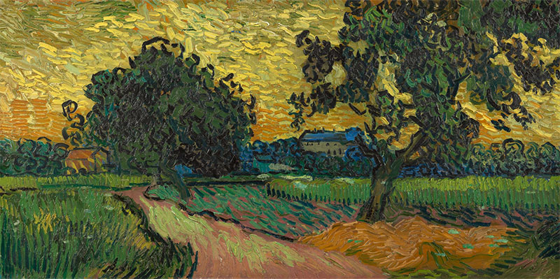 """Landscape at Twilight"" Vincent VanGogh"
