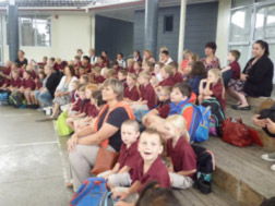 Our students attending the a Maori culture day with Tau Te Arohanoa Akoranga.