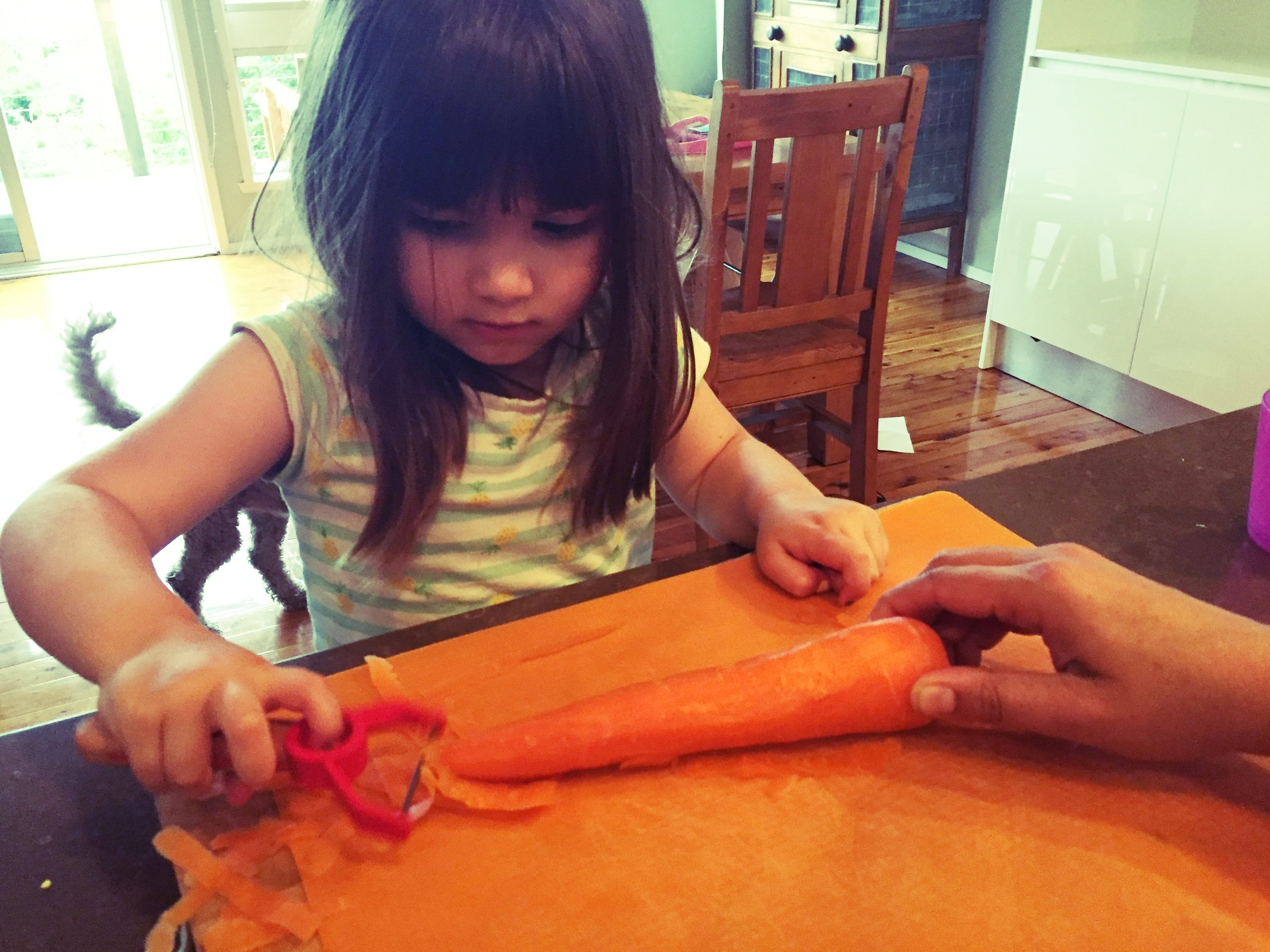 Kids love to help in the kitchen, and Opinel makes is easy with their special childrens range.