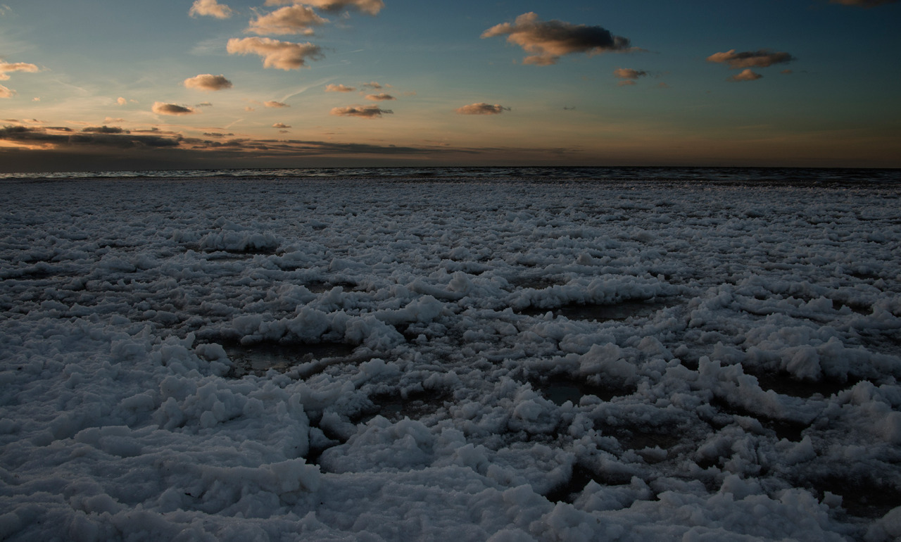 The beautiful wintry shore of Lake Ontario.   Although cold, there is something very calming here, at this time of year.