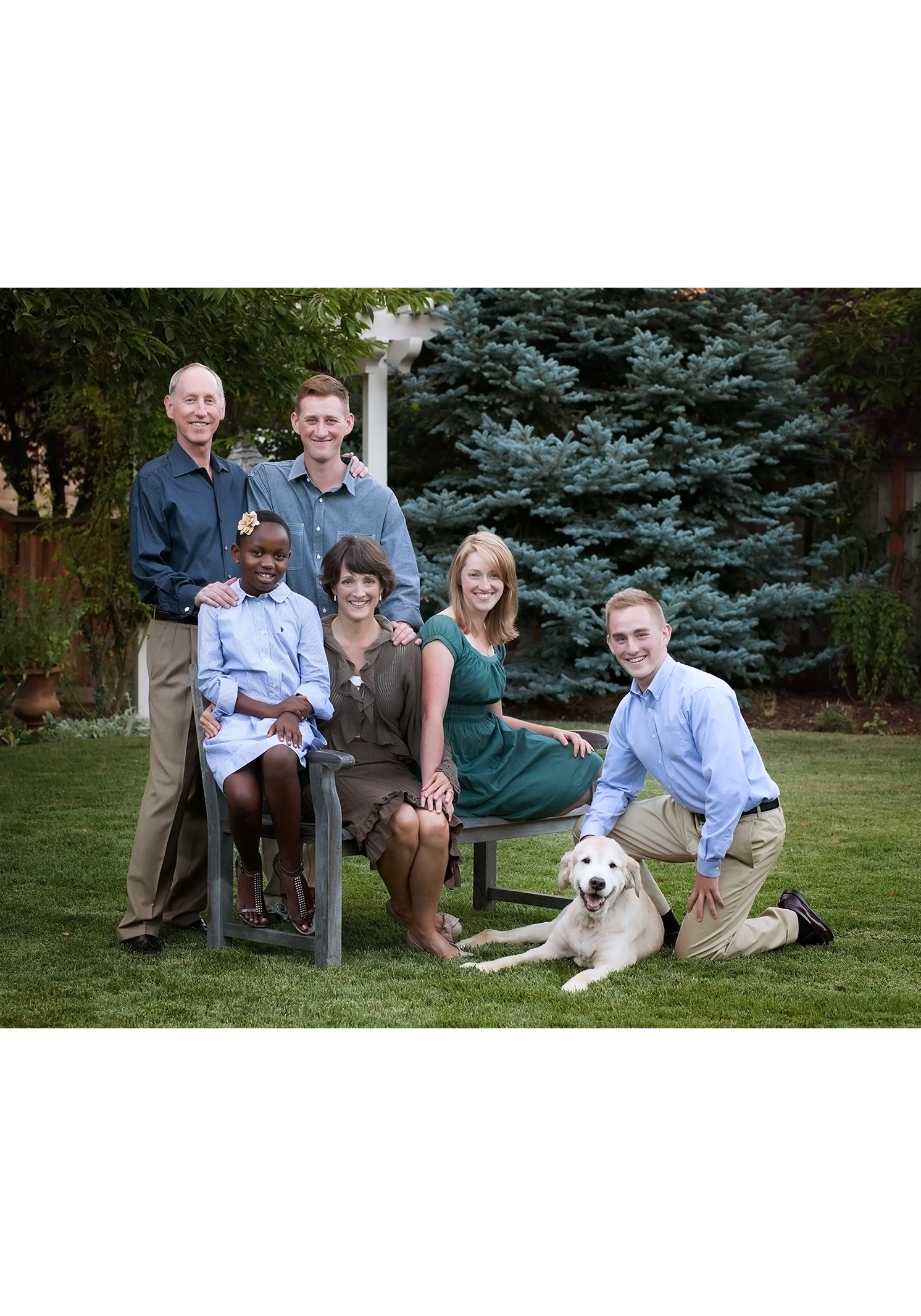 Copy of Copy of family portrait session at home in danville