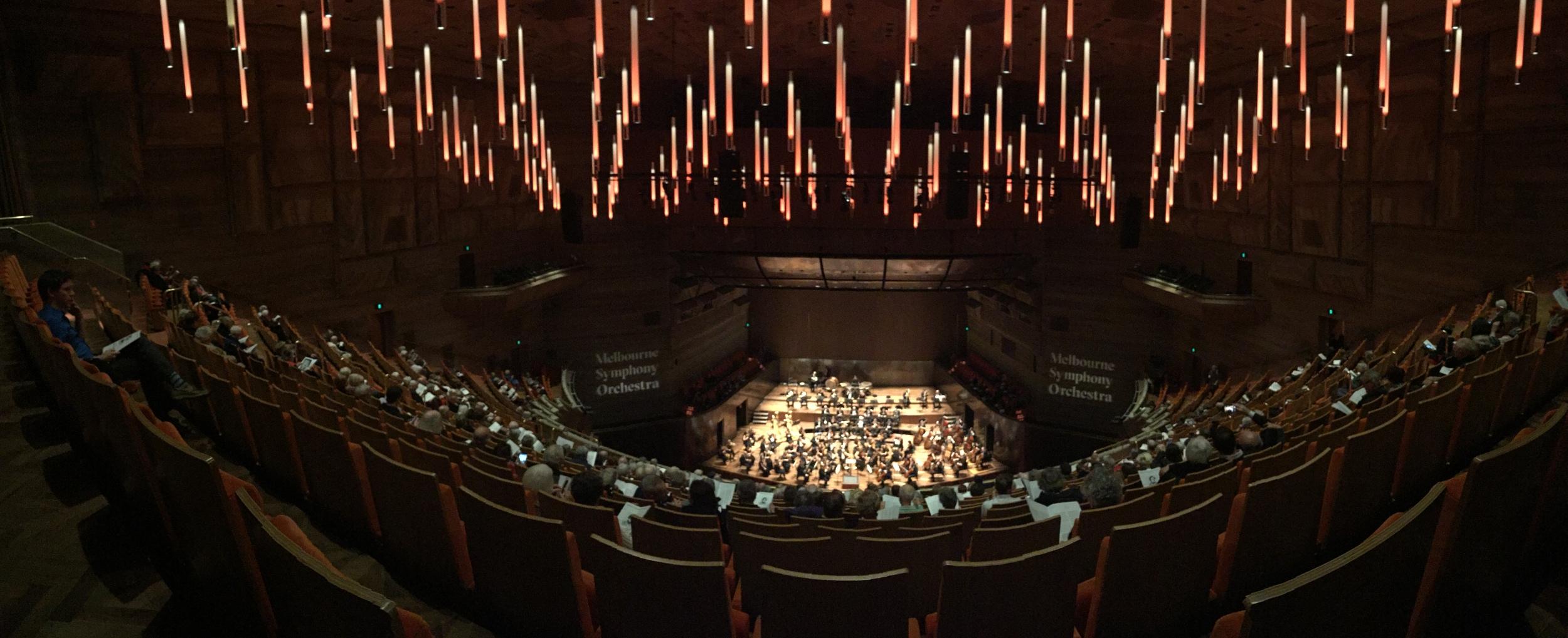 The Melbourne Symphony Orchestra at Hamer Hall, pre-performance of  Mendelssohn's Italian Symphony . Image: © Jasen Scott, 2016.