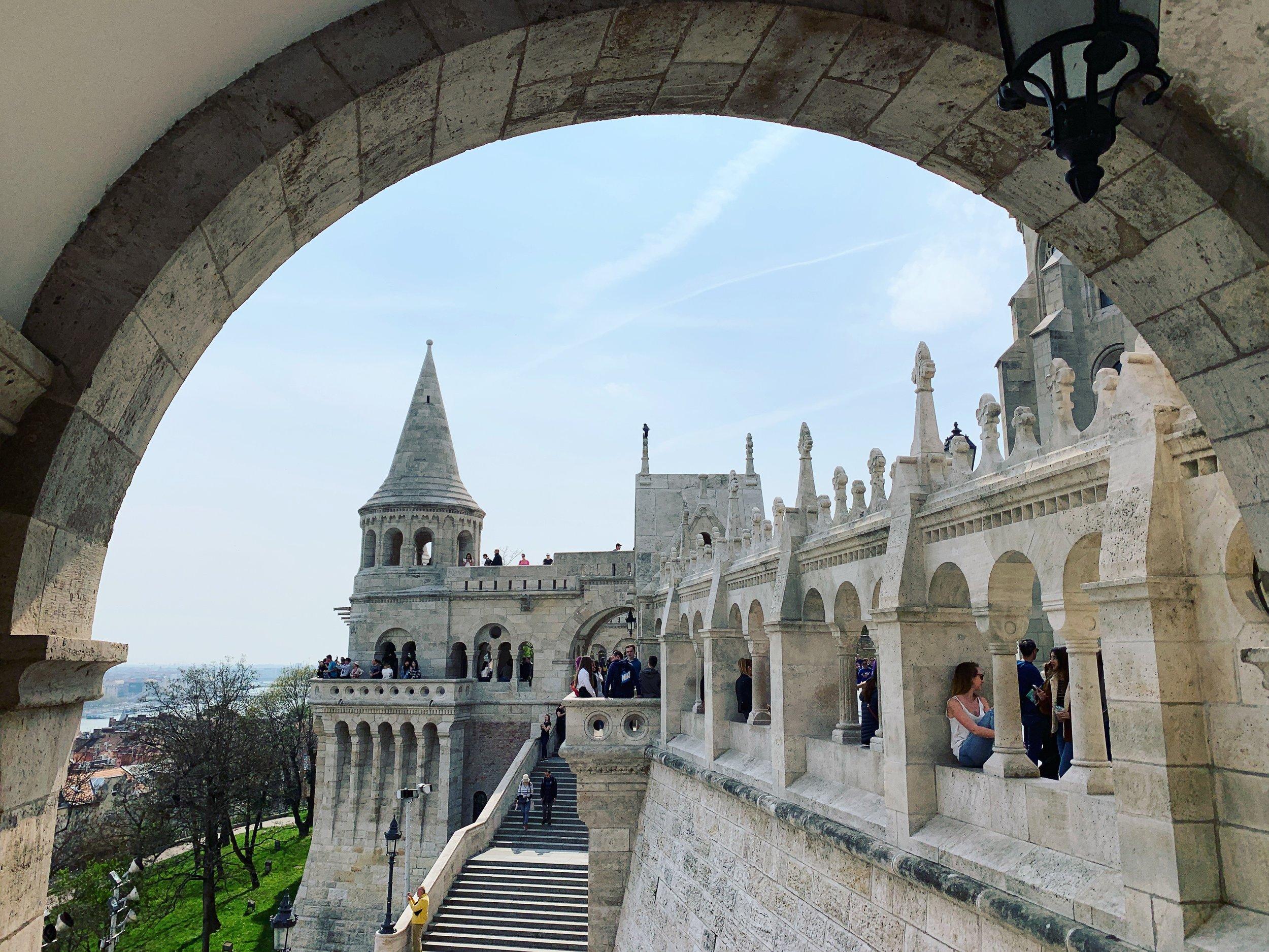 Fisherman's Bastion (Budapest, Hungary)