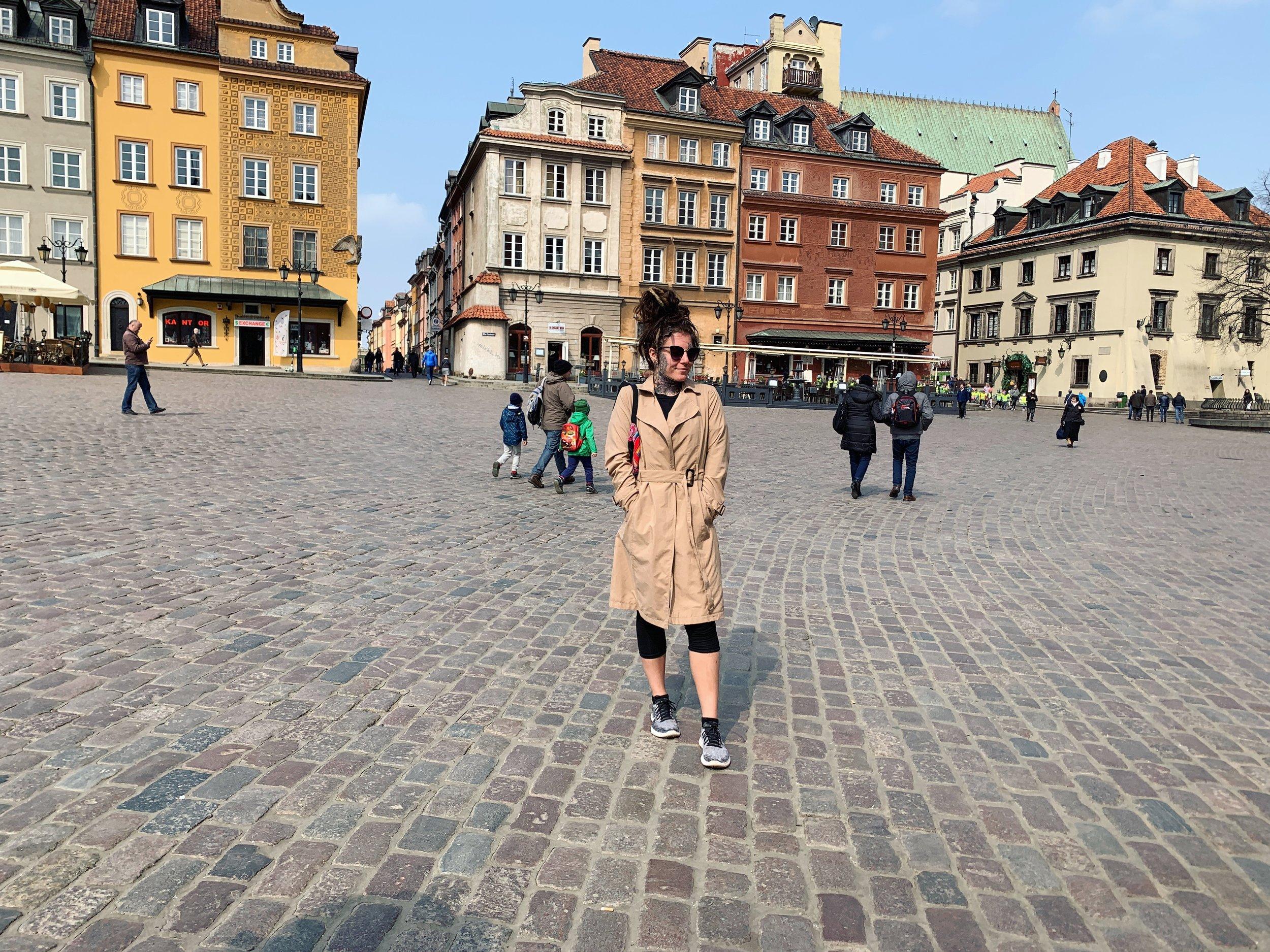 Warsaw, Poland (such a cute city!)