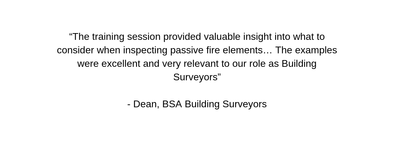 Engaging PLUS Passive Fire to perform a third party review of the fire systems proposed by trade contractors gave TDD peace of mind that the building would achieve total compliance and withstand any future (30).png