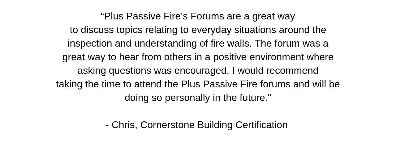 Engaging PLUS Passive Fire to perform a third party review of the fire systems proposed by trade contractors gave TDD peace of mind that the building would achieve total compliance and withstand any future (31).png