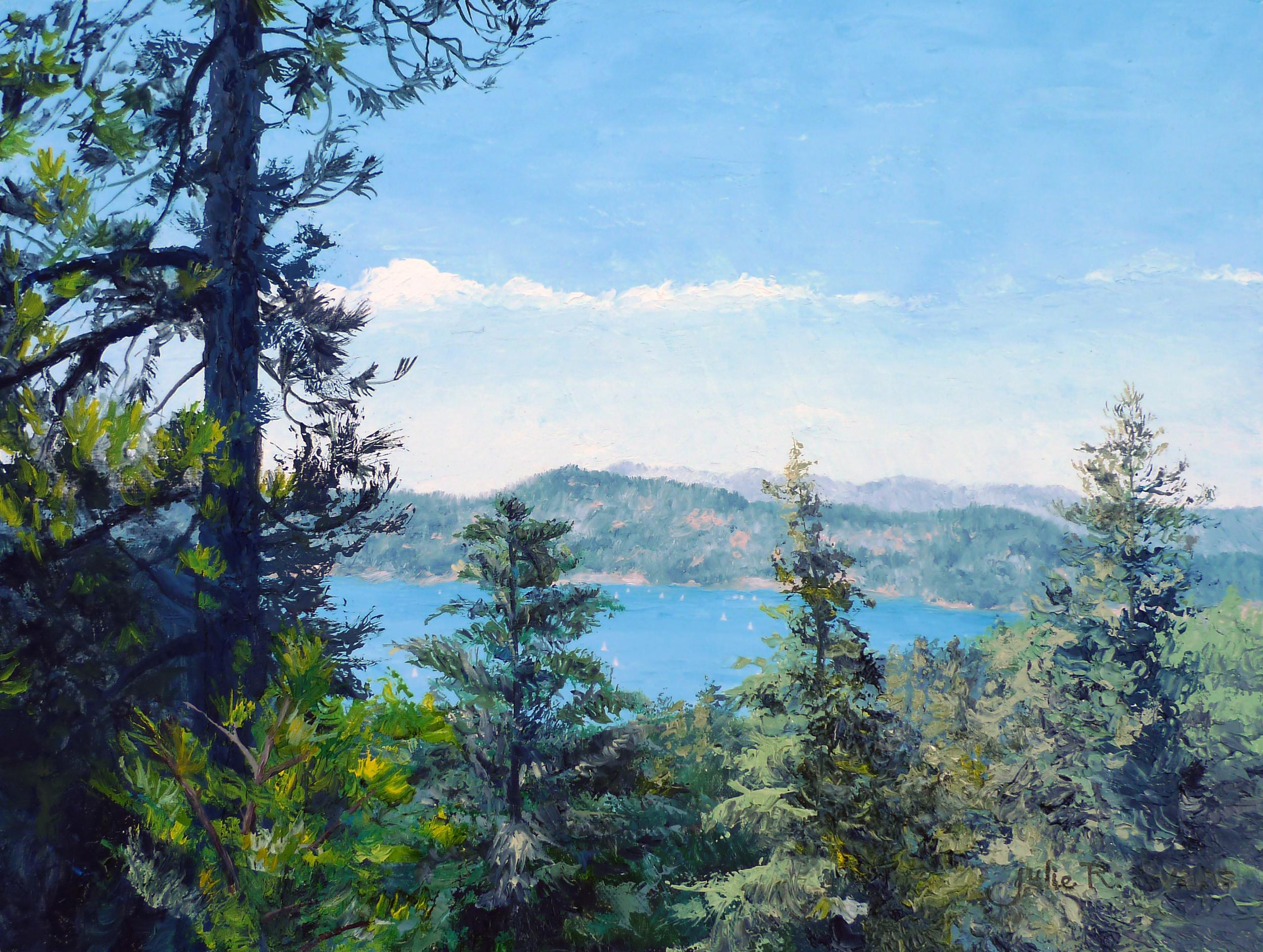 2011-06-14-Julie-R-Evans-Oil-12x16-Kuffel-Canyon-Rd-Lake-Arrowhead-3.jpg