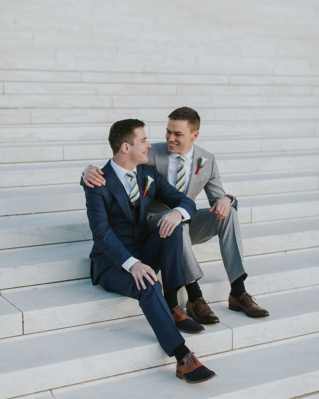 Wishing a Happy Anniversary to these two!! I had the honor of going to Washington, D.C. a year ago to celebrate with an old friend as he married the love of his life! I was so incredibly moved by their love for one another, and the vows they wrote. (Not a dry eye in the room!) Wishing Conor & Mike many more years of wedded bliss!  #weddingphotography #washingtondc #louisvilleweddingphotographer #lexingtonweddingphotographer #love #winterwedding #loveislove #groomgoals