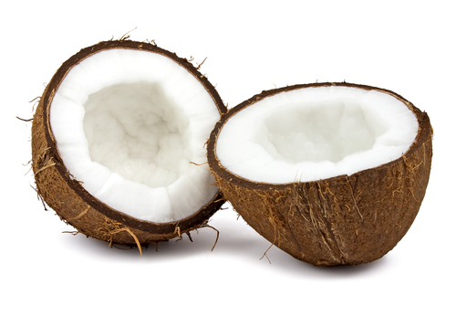 Coconut flour is obtained from the flesh of the coconut after extraction of coconut oil.