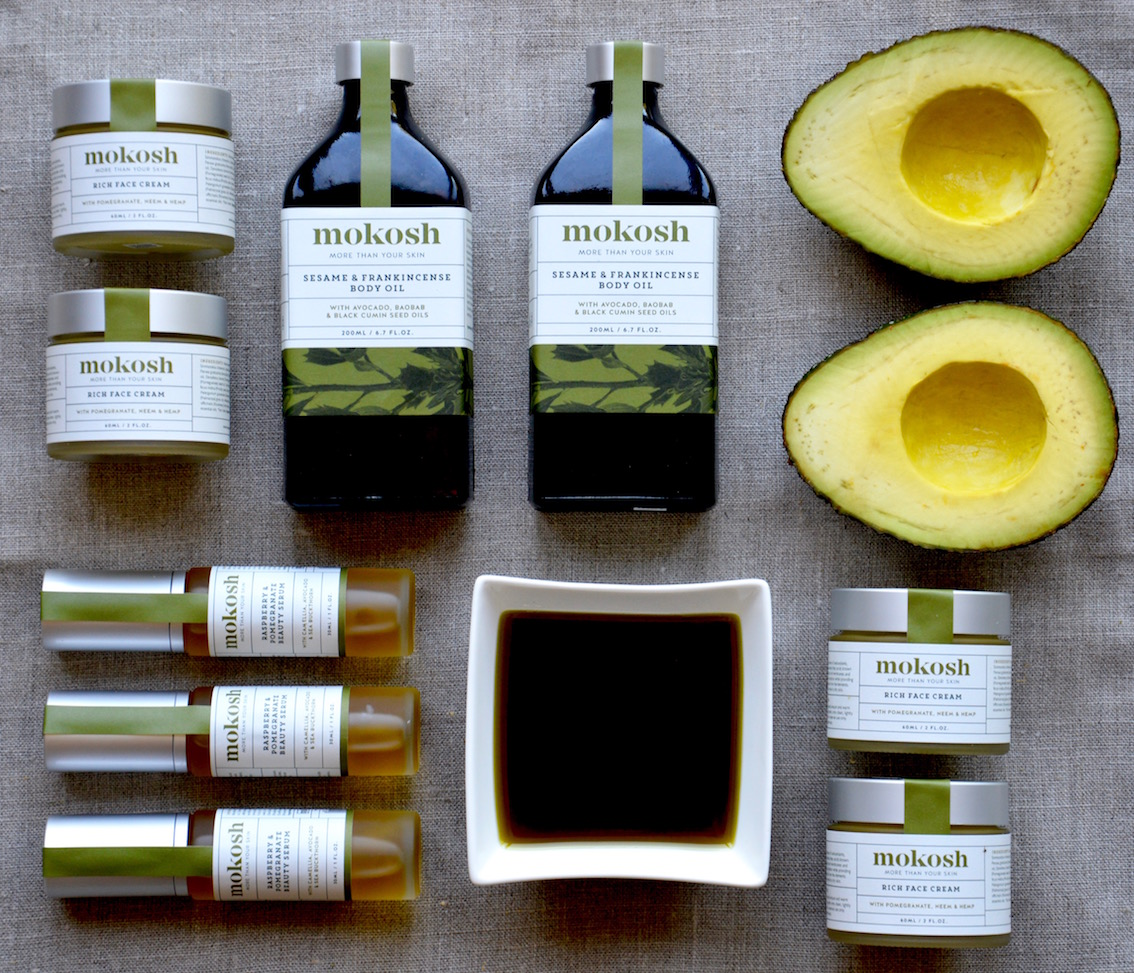 We use biodynamic, certified organic avocado oil in three of our 100% certified organic skin care products.
