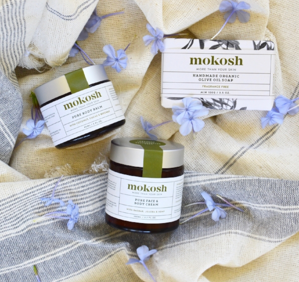 3 of our essential oil free products designed for babies.