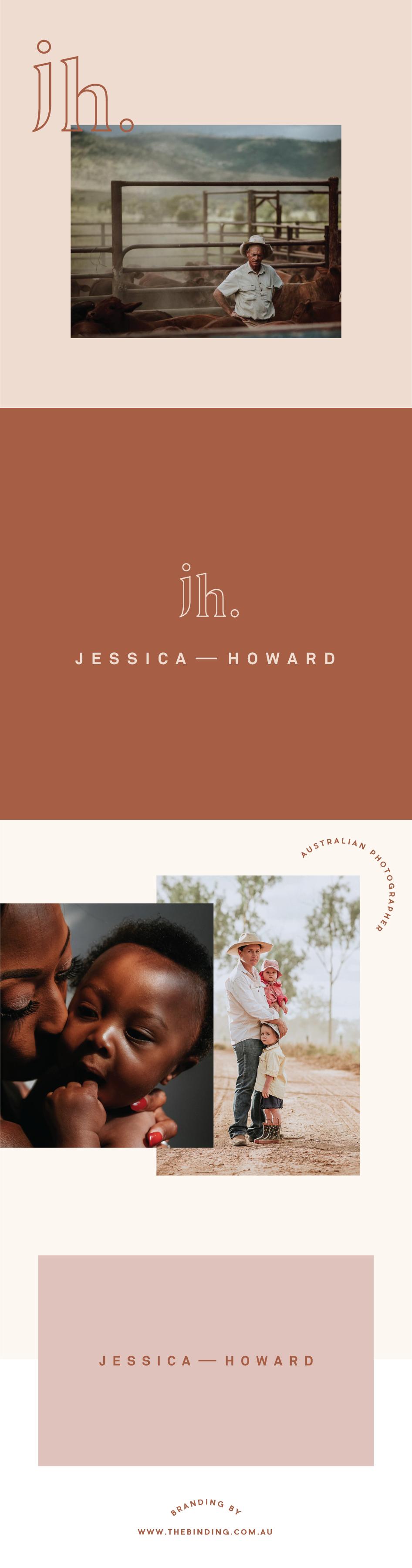 Jessica Howard Photographer Branding