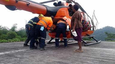 Medivac saves mother and child - Aug 1, 2016 - A successful medivac at the Wafi-Golpu Project site has saved the life...