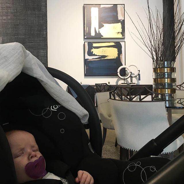 We start them young at Studio Ombre. Not so sure about sleeping on the job though.. @boydblue  #interiordesign #interior #design #styling #decor #instastyle #showroom #sourcing #furniture #accessories #art #inspiration #baby #babyatwork #babyboy #sleepingonthejob #boydblue #sydney