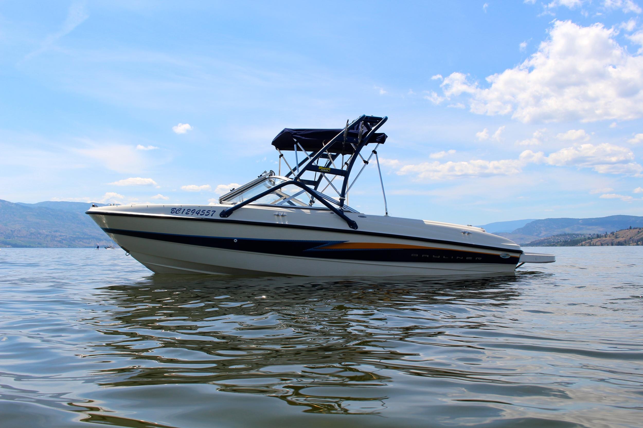 Okanagan Lake Boat Rentals (Kelowna, BC) Bayliner