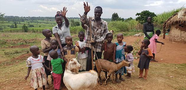 Ziegenprojekt für Uganda - Bock auf Gutes tun
