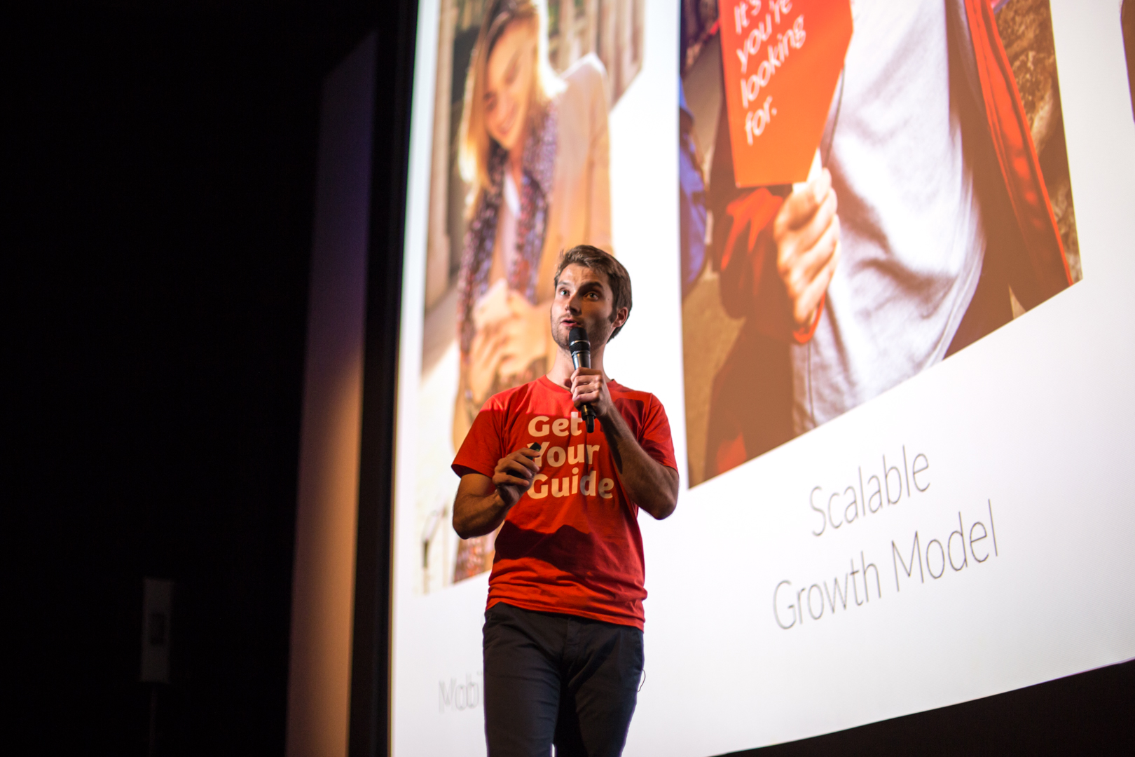 CEO Johannes Reck talking about the past, the present and the future of GetYourGuide.