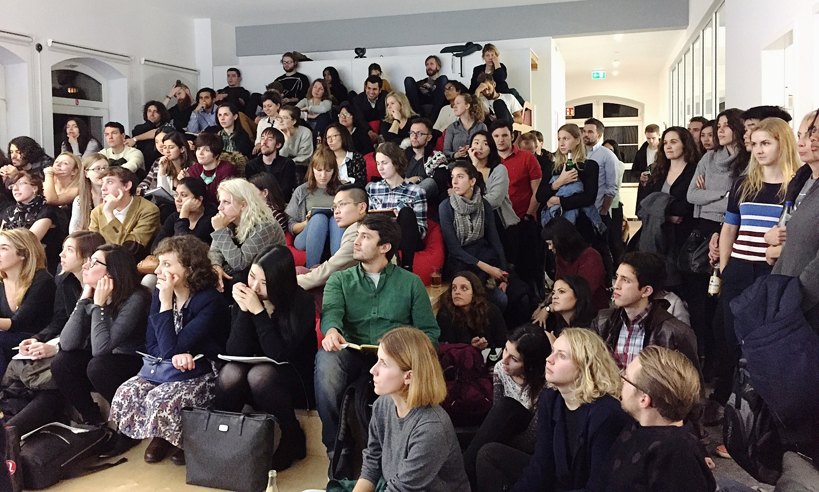 Over 90 Berlin-based Job Seekers gathered in our Update Area!