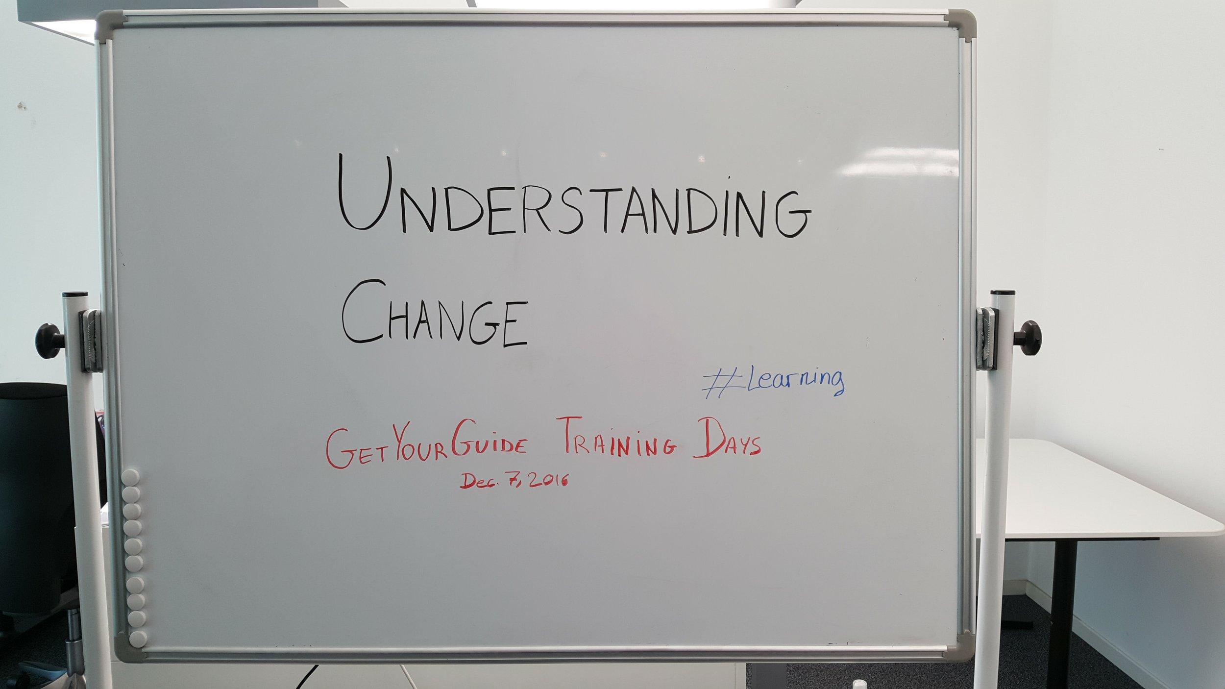 Understanding Change.