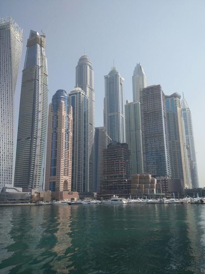 Incredible views in Dubai.