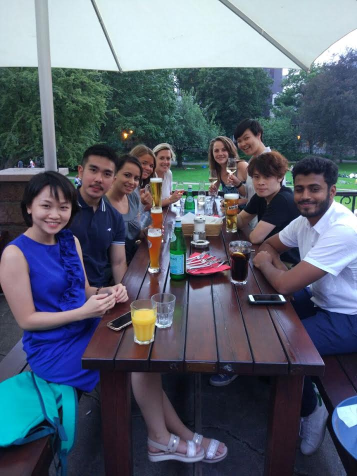 Our APAC team celebrating together!