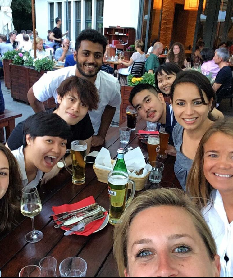 The APAC team is growing - we can hardly fit them all into one picture!