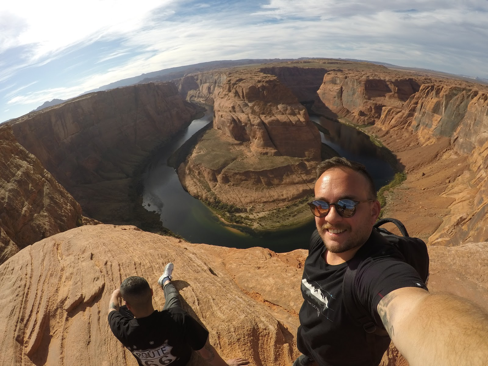 Konstantinos, Destination Manager Greece, at the Grand Canyon
