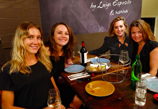 Me with 2 members of the ANZ team and our regional director, Julia Randow in Sydney in 2018: ( from left to right: Olivia Matis, Tilly Hemperger, me, Julia Randow)