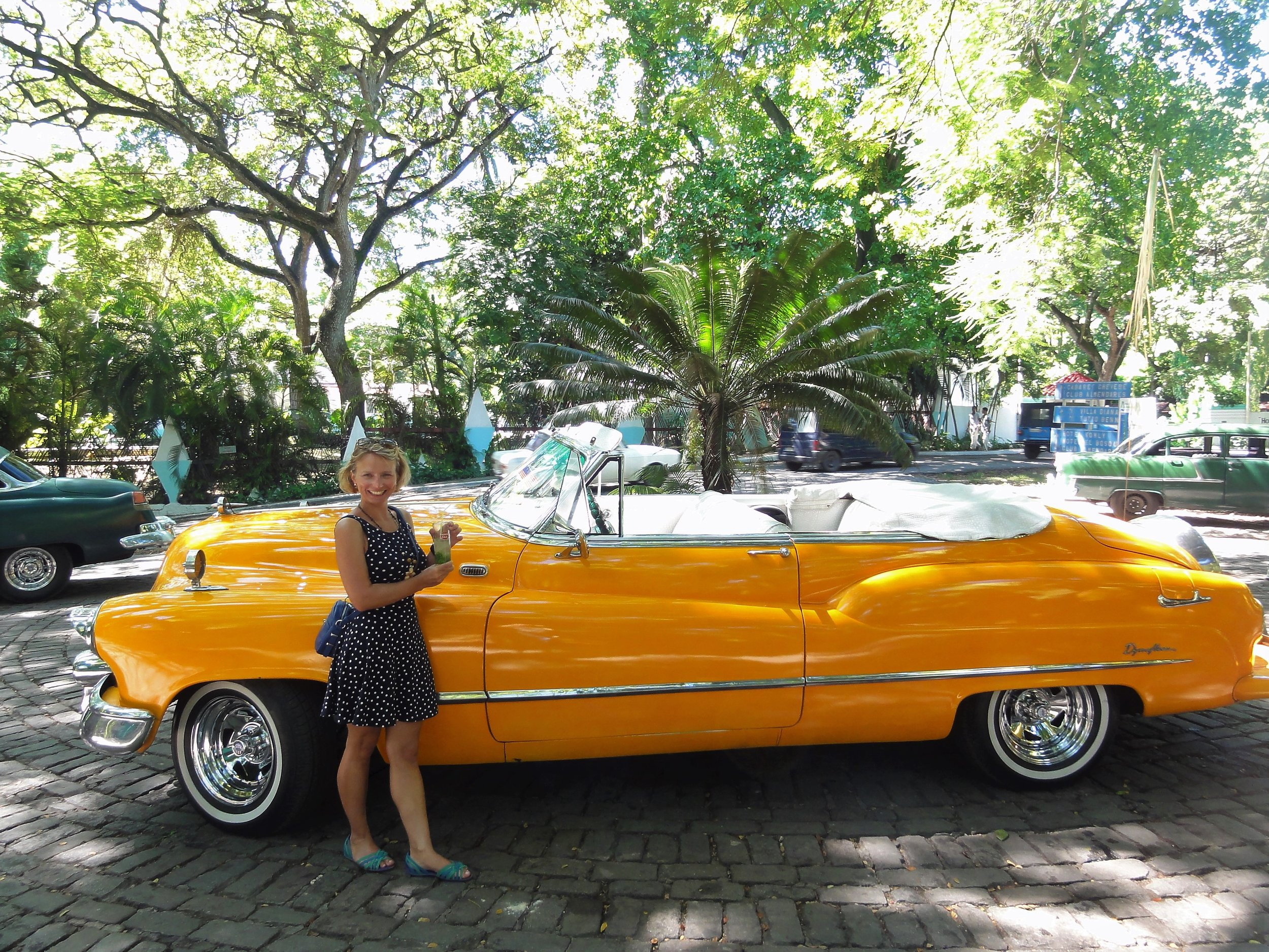Mandy in Cuba