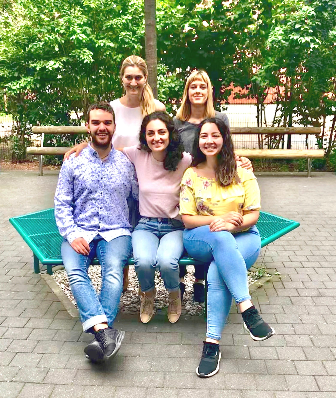 The Legal team from left to right: Randy Glass, Nadine Lilienthal, Jasmin Tafazolli, Hannah Durhack, Aydan Güneş