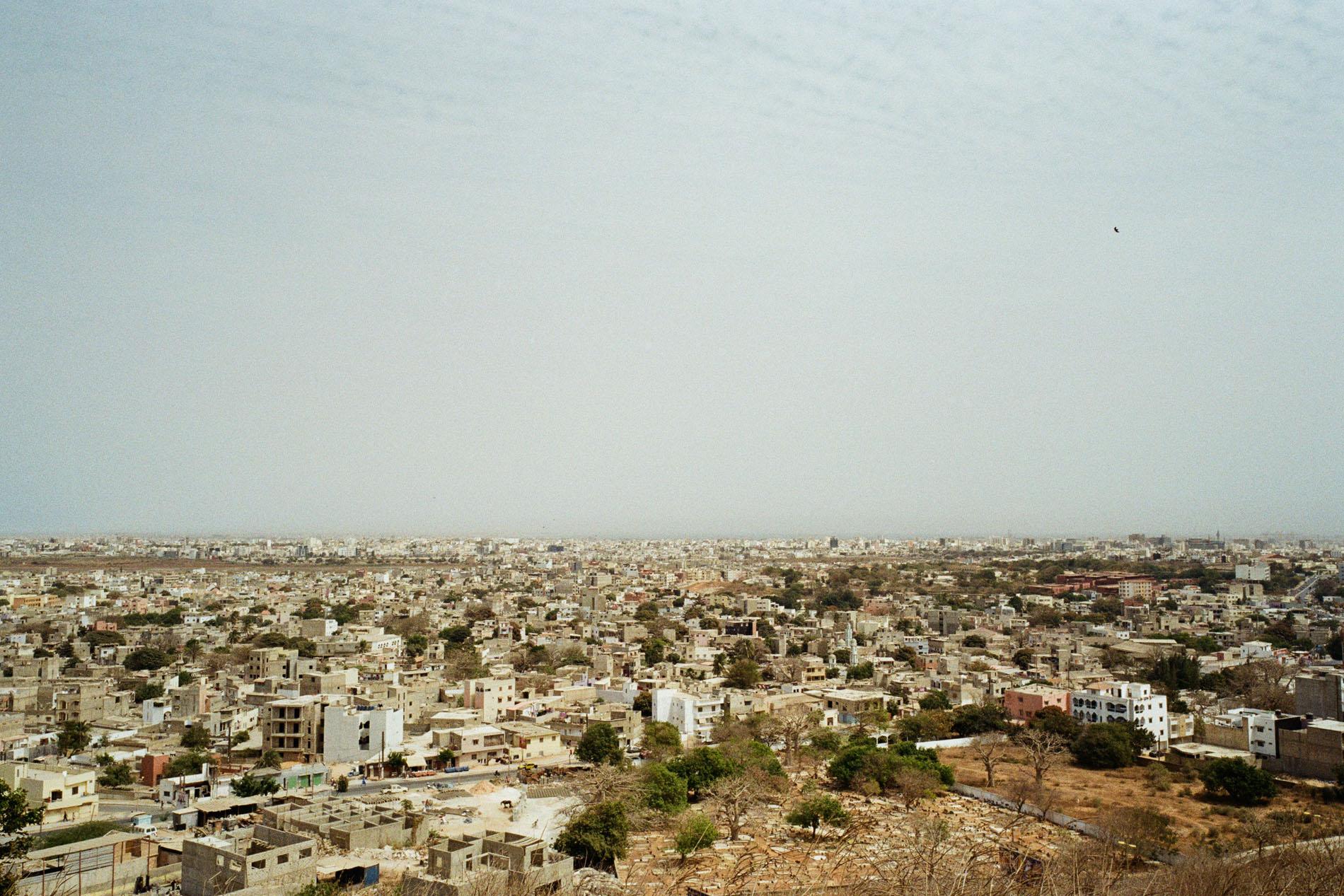 View to Dakar