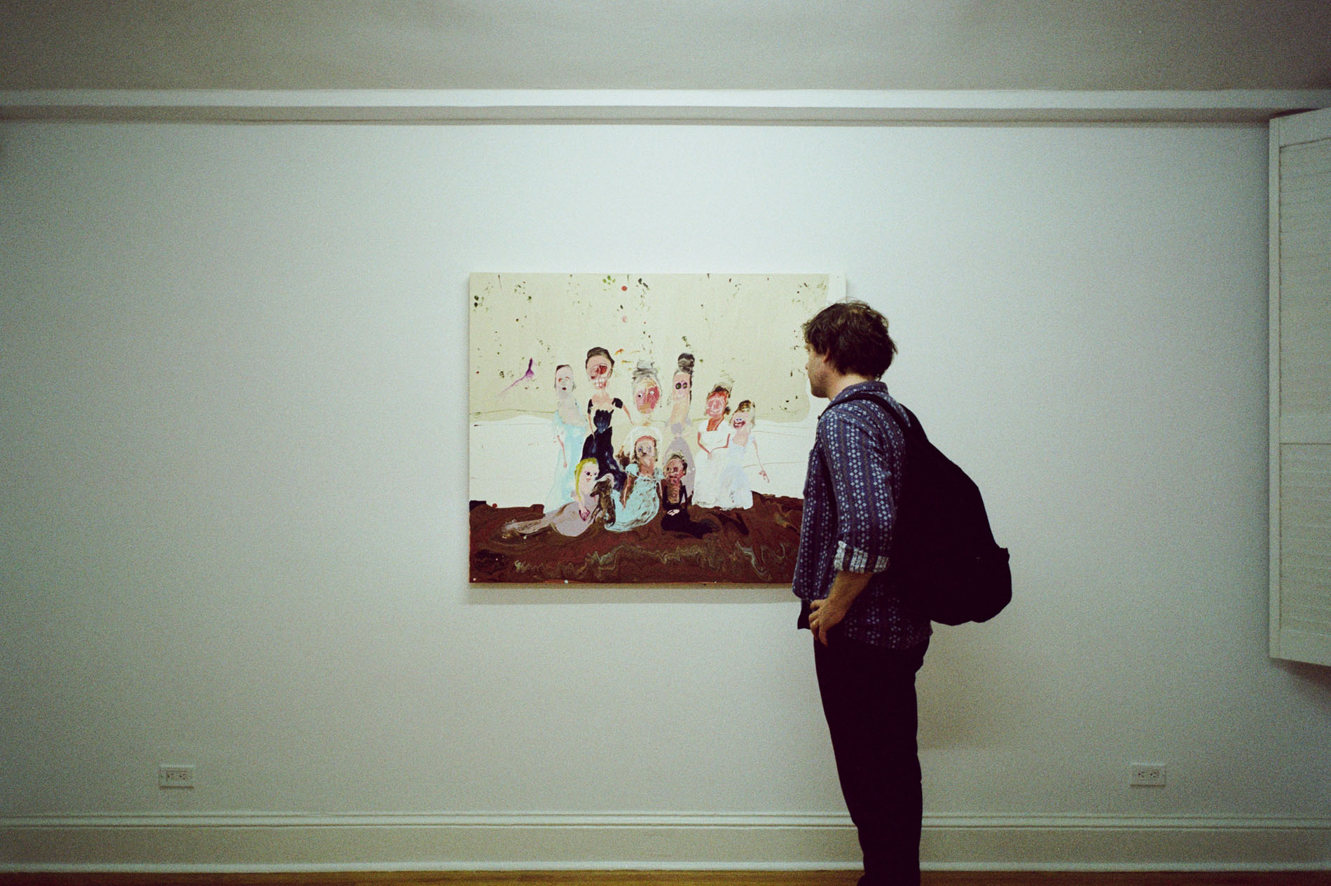 Genieve Figgis at the Half Gallery
