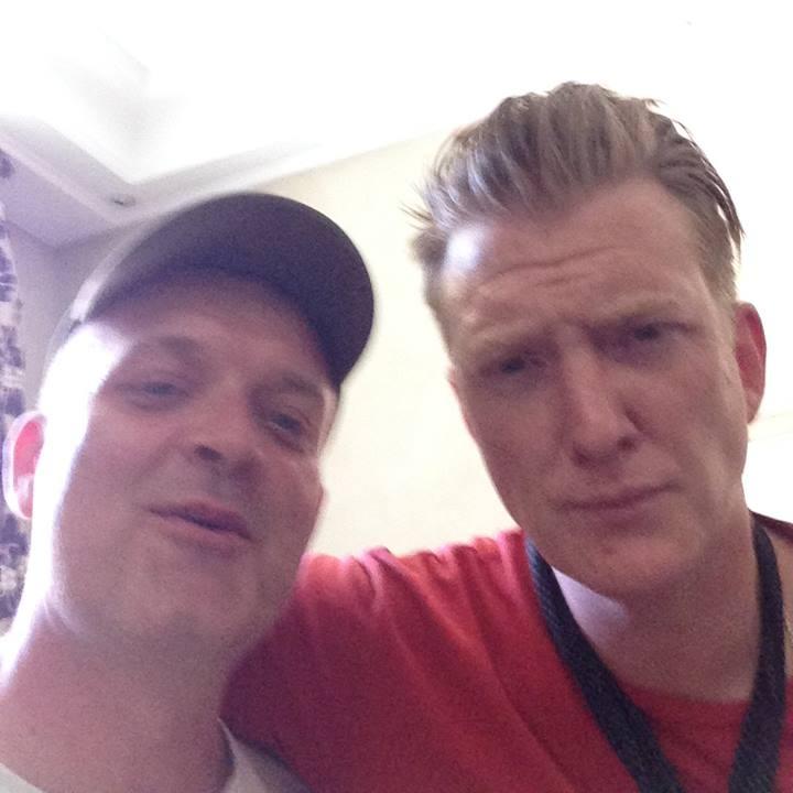 Henrik Tuxen & Josh Hommes, June 2017. Munich.