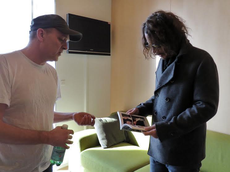 Henrik Tuxen & Chris Cornell, Copenhagen 2016.
