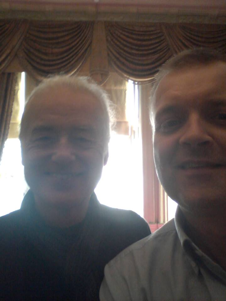 Henrik Tuxen Jimmy Page 2014 London.jpg