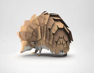 The Tiny Hedgehog...