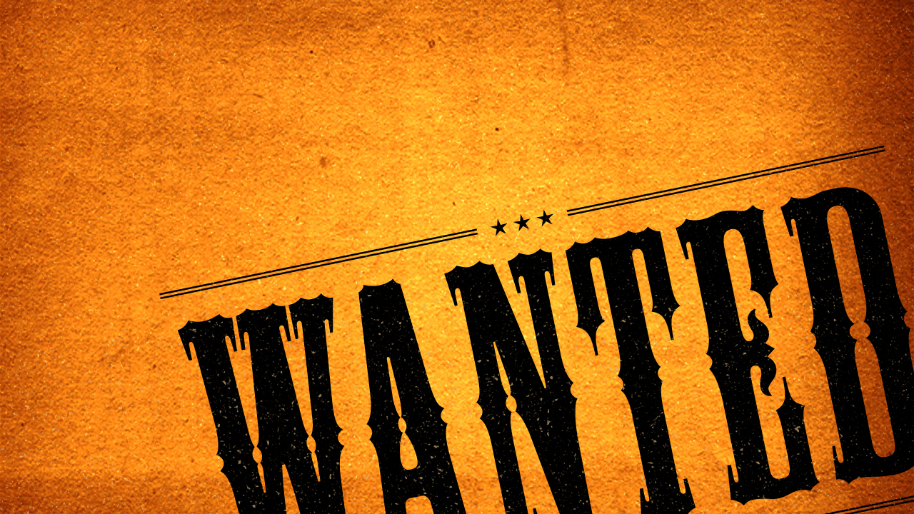 Wanted - A series in Mark