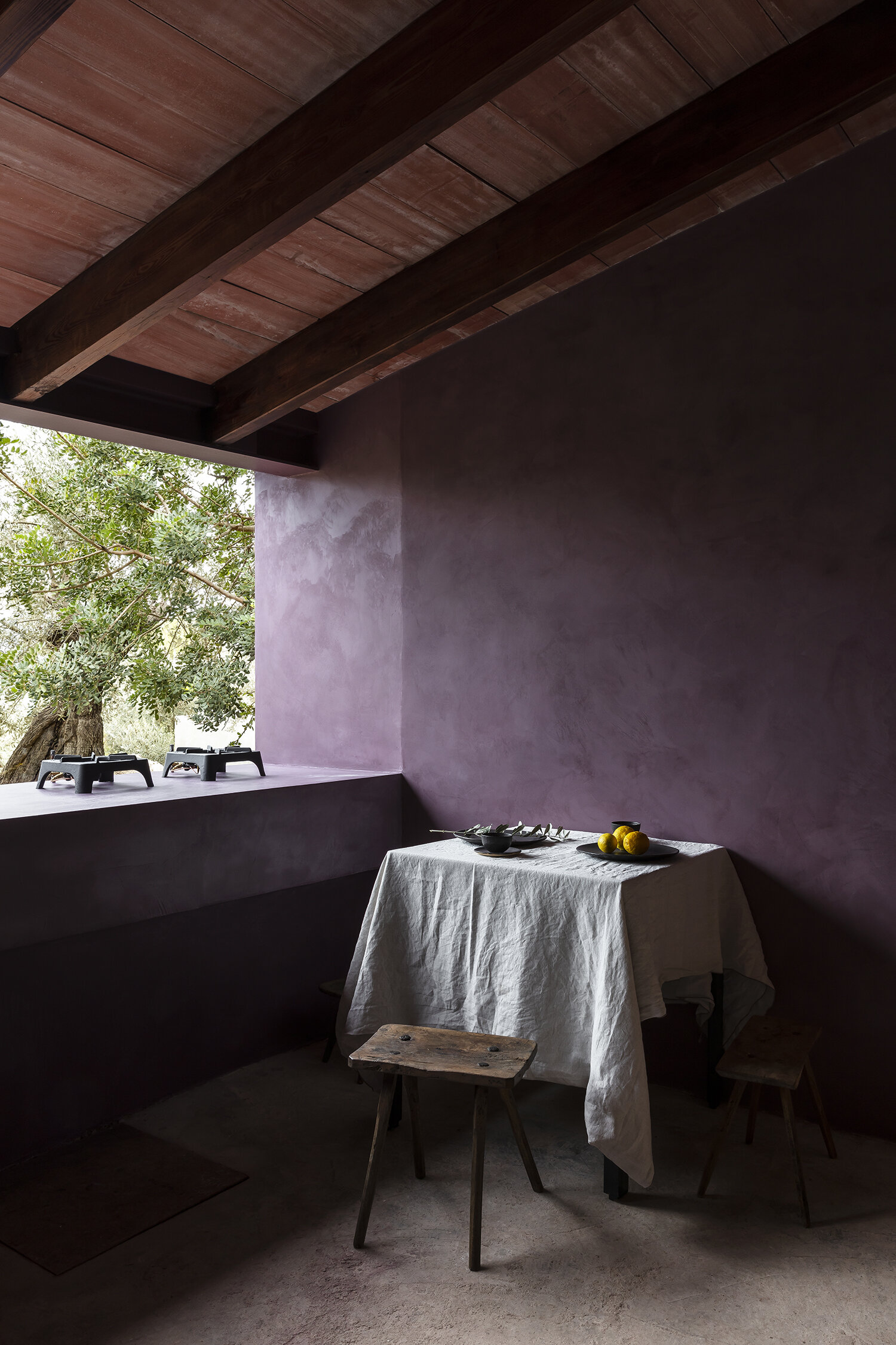 mar plus ask raw minimalism stucco walls olive houses padstyle