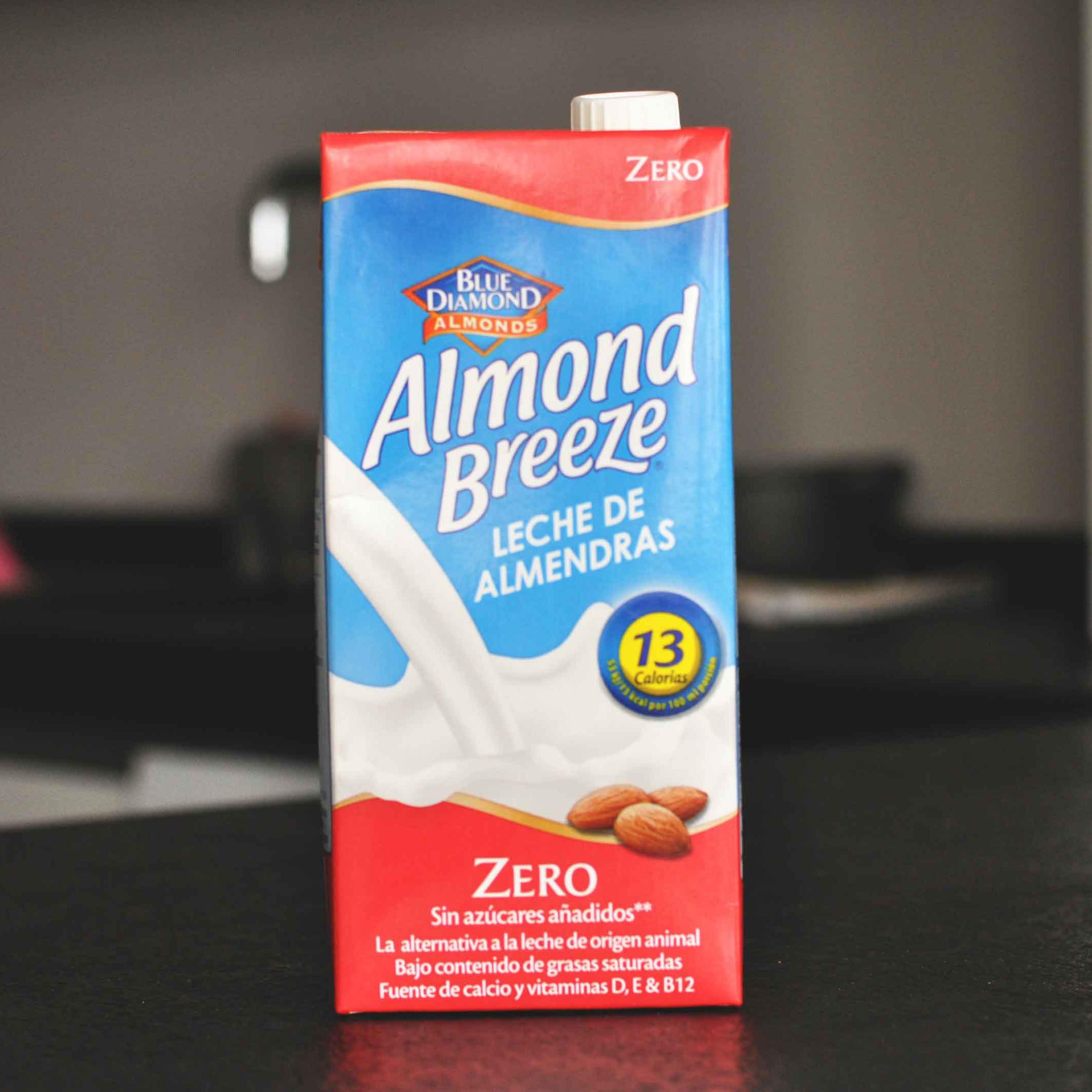 almond breeze zero