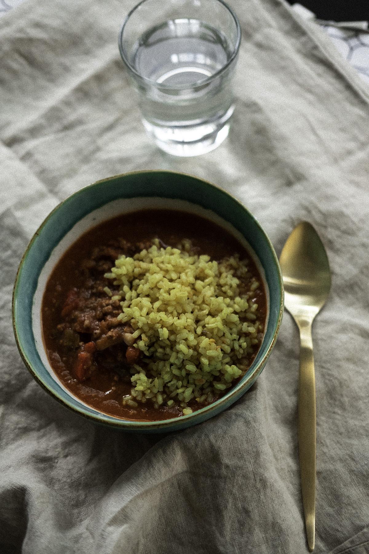 receta chili con carne facil