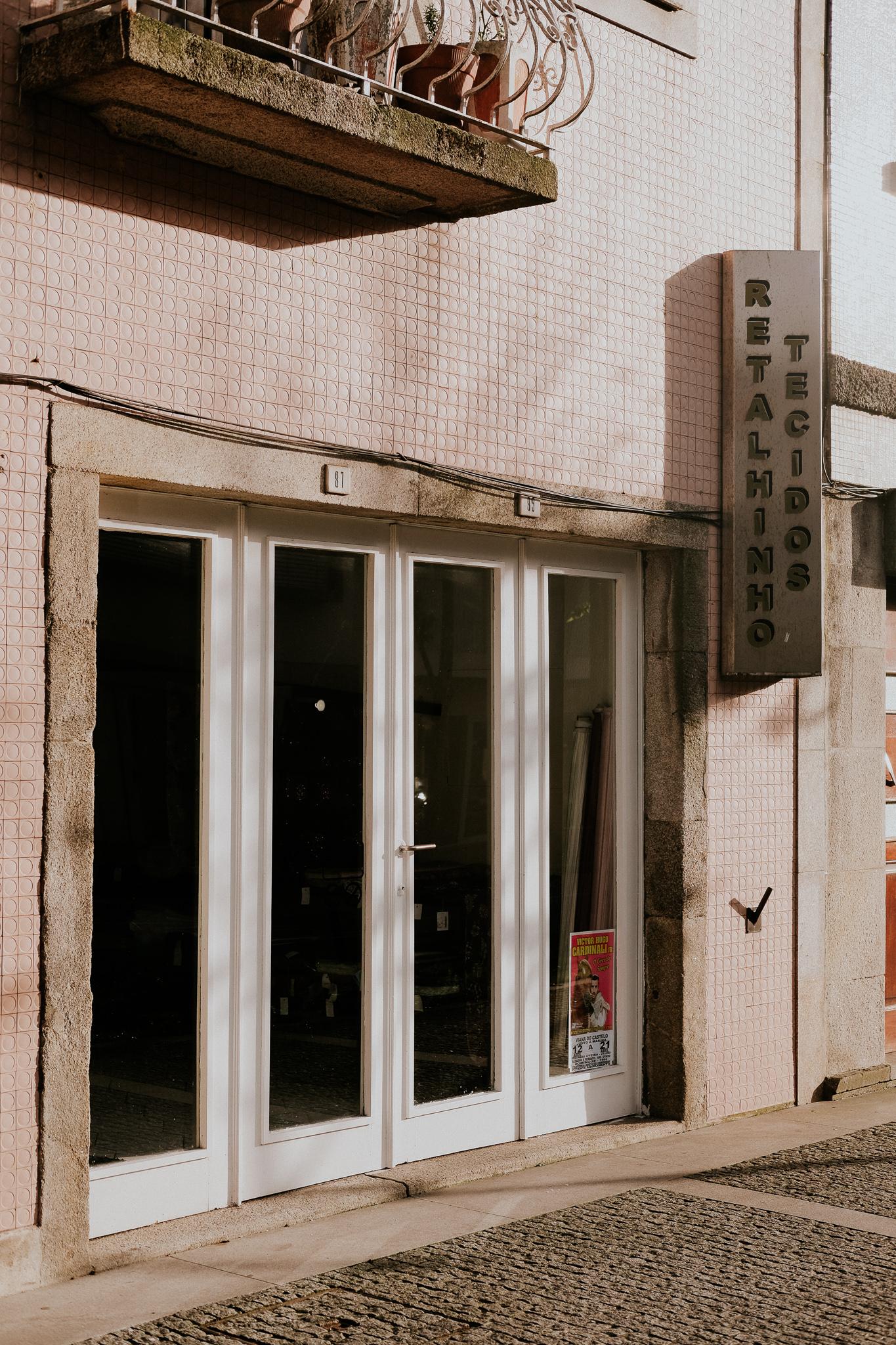 Una tienda de retales…colorida.