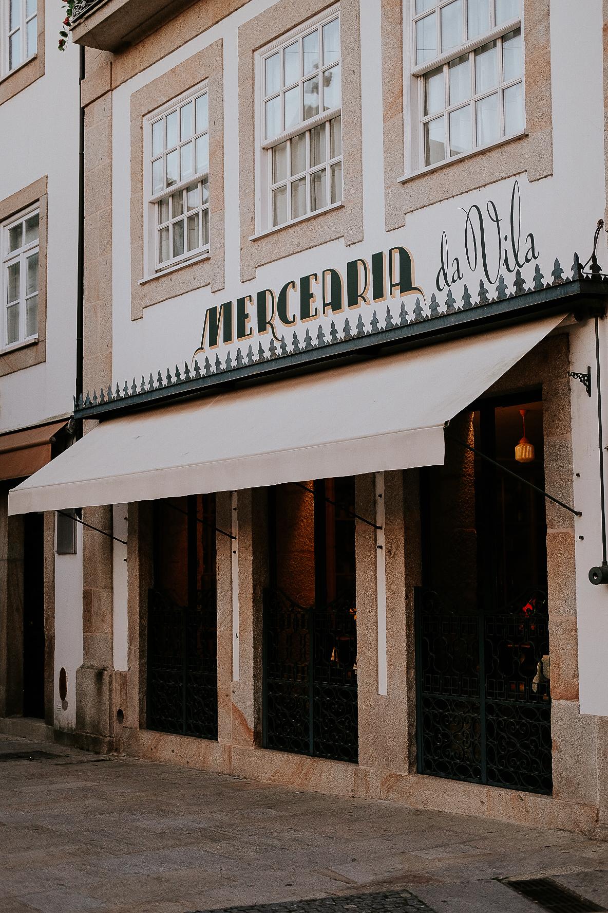 'Merceria Da Vila' es un hotel y restaurante en Ponte da Lima que me recomendaron también