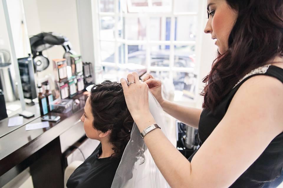 Wedding Hair Derby