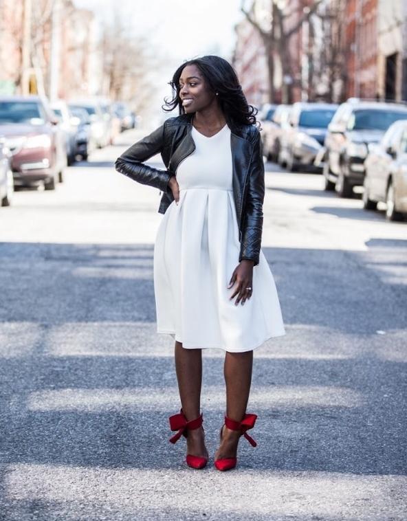 Dress:  Boohoo  Shoes:  Aminah Abdul Jillil