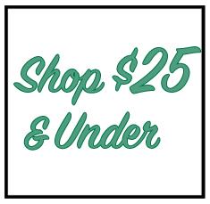 Shop $25 & Under