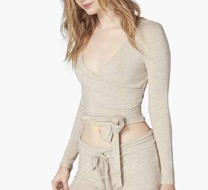 Wrap Around - Simple and Soft, perfect for going out or staying in!*Buy this look in the Shop-the-Look Section below!